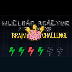 Nuclear Reactor Simulator Brain Challenge loading screen