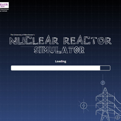 Nuclear Reactor Simulator loading screen
